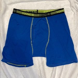 Slim fit breathable Hanes boxer briefs underwear